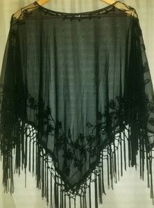 Accessories - NWOT Beaded Shawl